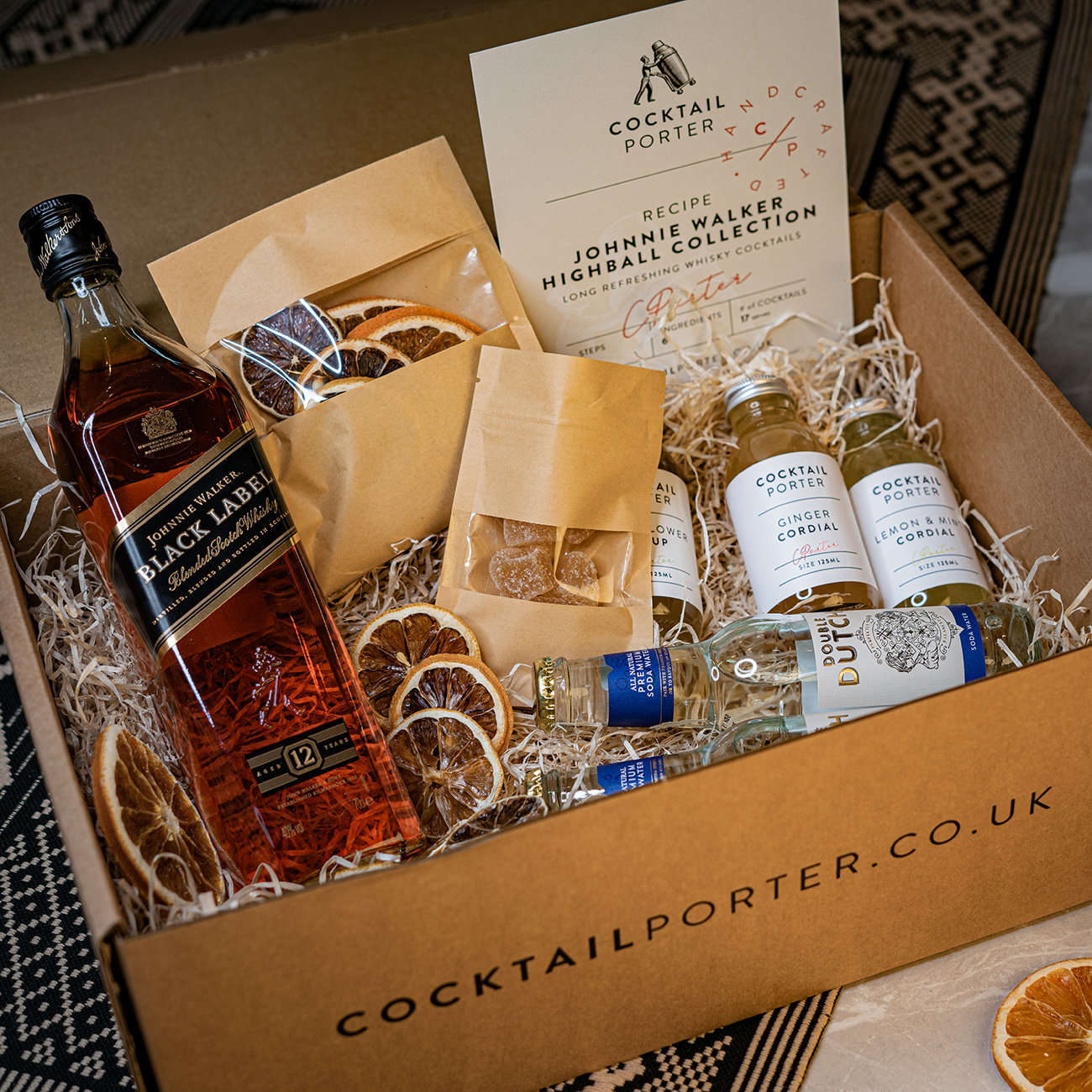 Johnnie Walker Highball Cocktail Kit